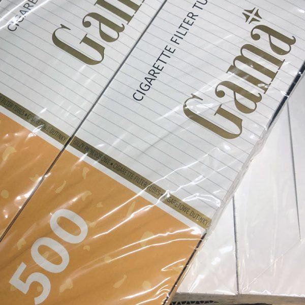 Гильзы для сигарет «Гама» (GAMA) — 500 штук (Польша)
