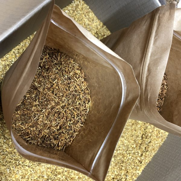 Табак премиум Вирджиния Лайт без центральной жилки (500 грамм)